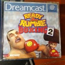 Videojuegos y Consolas: JUEGO READY 2 RUMBLE BOXING 2 PARA SEGA DREAMCAST. Lote 190545745