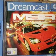 Videojuegos y Consolas: JUEGO METRÓPOLIS STREET RACER PARA SEGA DREAMCAST. Lote 190636377