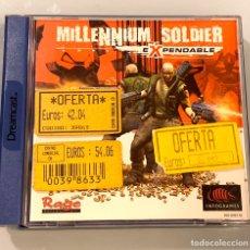 Videojuegos y Consolas: JUEGO SEGA DREAMCAST MILLENIUM SOLDIER EXPENDABLE. Lote 195144468