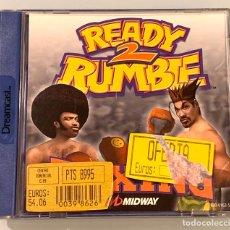 Videojuegos y Consolas: JUEGO SEGA DREAMCAST READY 2 RUMBLE NUEVO. Lote 195146165