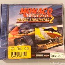 Videojuegos y Consolas: JUEGO SEGA DREAMCAST MÓNACO GRAND PRIX RACING SIMULATION 2 NUEVO. Lote 195146445