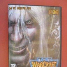 Videojuegos y Consolas: WARCRAFT III, FROZEN TRONE . PC CD-ROM EXPANSION SET . Lote 196667972
