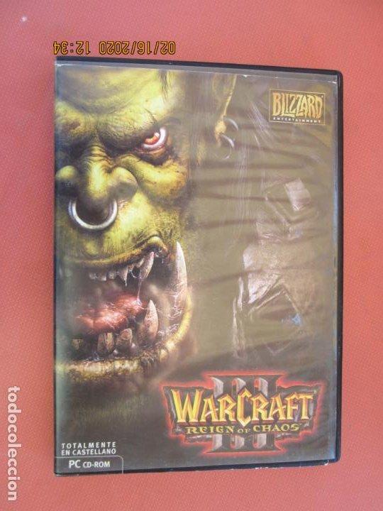 WARCRAFT III, REINGN OF CHAOS - PC CD-ROM (Juguetes - Videojuegos y Consolas - Sega - DreamCast)