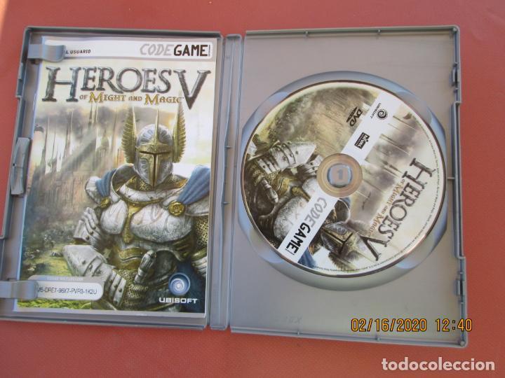 Videojuegos y Consolas: HEROES V OF MIGHT AND MAGIC - PC DVD ROM - TOTALMENTE EN CASTELLANO - Foto 2 - 196811275