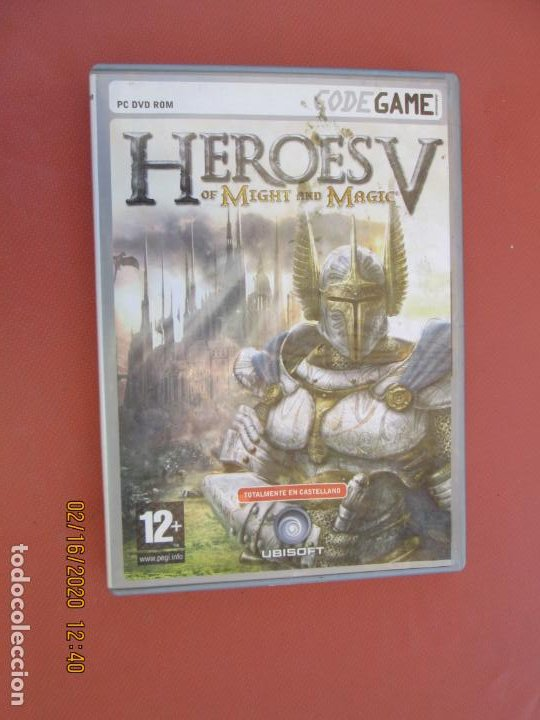 HEROES V OF MIGHT AND MAGIC - PC DVD ROM - TOTALMENTE EN CASTELLANO (Juguetes - Videojuegos y Consolas - Sega - DreamCast)