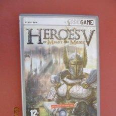 Videojuegos y Consolas: HEROES V OF MIGHT AND MAGIC - PC DVD ROM - TOTALMENTE EN CASTELLANO . Lote 196811275