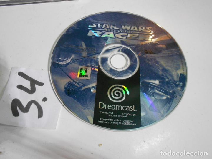 ANTIGUO JUEGO DREAMCAST STAR WARS EPISODIO 1 (Juguetes - Videojuegos y Consolas - Sega - DreamCast)