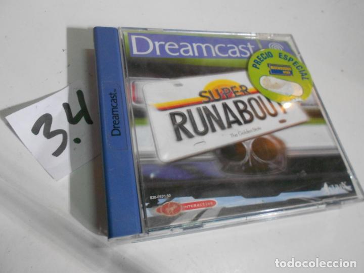 ANTIGUO JUEGO DREAMCAST SUPER RUNABOUT (Juguetes - Videojuegos y Consolas - Sega - DreamCast)
