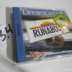 Videojuegos y Consolas: ANTIGUO JUEGO DREAMCAST SUPER RUNABOUT. Lote 200565983