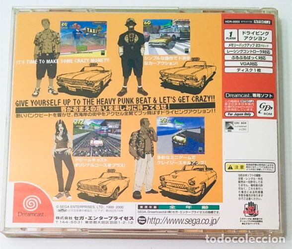 Videojuegos y Consolas: Crazy Taxi [Hitmaker] [2000] [NTSC-J] [SEGA DreamCast] - Foto 2 - 202553128