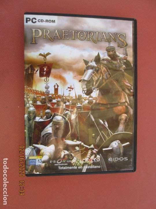 PRAETORIANS - PC CD-ROM - PROEIN - EIDOS - LA FORJA DE UN IMPERIO ... - VER FOTOS. (Juguetes - Videojuegos y Consolas - Sega - DreamCast)