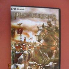 Videojuegos y Consolas: PRAETORIANS - PC CD-ROM - PROEIN - EIDOS - LA FORJA DE UN IMPERIO ... - VER FOTOS.. Lote 203947273