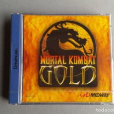 Videojuegos y Consolas: SEGA DREAMCAST MORTAL KOMBAT GOLD FACTORY SEALED MINT NEW UNUSED PAL EUR R10965. Lote 204419722
