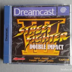 Videojuegos y Consolas: SEGA DREAMCAST STREET FIGHTER III DOUBLE IMPACT FACTORY SEALED MINT NEW PAL EUR R10967. Lote 204419926
