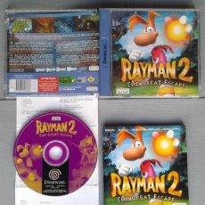 Videojuegos y Consolas: SEGA DREAMCAST RAYMAN 2 THE GREAT SCAPE COMPLETO CON CAJA Y MANUAL BOXED CIB PAL R10897. Lote 205251513