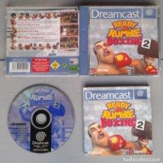 Videojuegos y Consolas: SEGA DREAMCAST READY 2 RUBLE BOXING ROUND 2 COMPLETO CAJA MANUAL BOXED CIB PAL R10905. Lote 205251691