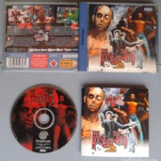 Videojuegos y Consolas: SEGA DREAMCAST THE HOUSE OF THE DEAD 2 COMPLETO CAJA MANUAL BOXED CIB PAL R10917. Lote 205251753