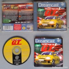 Videojuegos y Consolas: SEGA DREAMCAST SEGA GT COMPLETO CON CAJA Y MANUAL BOXED CIB PAL R10921. Lote 205251823