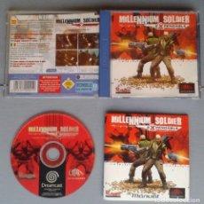 Videojuegos y Consolas: SEGA DREAMCAST MILLENIUM SOLDIER EXPENDABLE COMPLETO CAJA Y MANUAL BOXED CIB PAL R10925. Lote 205251972