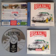 Videojuegos y Consolas: SEGA DREAMCAST SEGA RALLY CHAMPIONSHIP COMPLETO CAJA Y MANUAL BOXED CIB PAL R10926. Lote 205252051