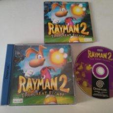 Videojuegos y Consolas: RAYMAN 2 PARA DREAMCAST ENTRA Y MIRA MIS OTROS JUEGOS!!. Lote 205253622