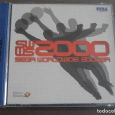 Videojuegos y Consolas: JUEGO DREAMCAST SEGA WORLDWIDE SOCCER. Lote 205520100