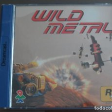 Videojuegos y Consolas: JUEGO DREAMCAST WILD METAL. Lote 205520855
