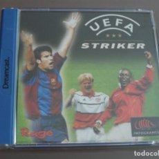 Videojuegos y Consolas: JUEGO DREAMCAST UEFA STRIKER. Lote 205521068