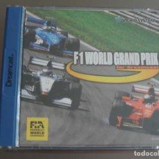 Videojuegos y Consolas: JUEGO DREAMCAST F1 WORLD GRAND PRIX. Lote 205521411
