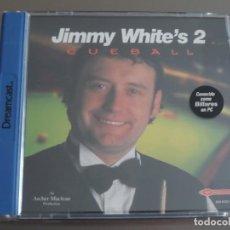 Videojuegos y Consolas: JUEGO DREAMCAST JIMMY WHITE´S 2 CUEBALL. Lote 205523148