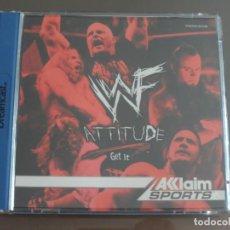Videojuegos y Consolas: JUEGO DREAMCAST WWF ATTITUDE. Lote 205523535