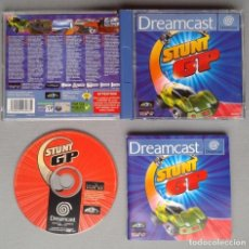 Videogiochi e Consoli: SEGA DREAMCAST STUNT GP COMPLETO CON CAJA Y MANUAL BOXED CIB PAL LEER R10890. Lote 206876135