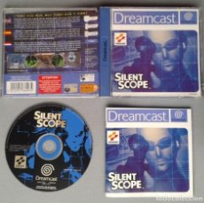 Videojuegos y Consolas: SEGA DREAMCAST SILENT SCOPE COMPLETO CON CAJA Y MANUAL BOXED CIB PAL R10899. Lote 206876356