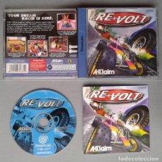 Videojuegos y Consolas: SEGA DREAMCAST REVOLT RE VOLT COMPLETO CON CAJA Y MANUAL BOXED CIB PAL R10901. Lote 206876432