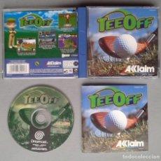 Videojuegos y Consolas: SEGA DREAMCAST TEE OFF GOLF COMPLETO CON CAJA Y MANUAL BOXED CIB PAL LEER R10903. Lote 206876520