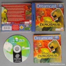 Videojuegos y Consolas: SEGA DREAMCAST DISNEY DINOSAUR COMPLETO CON CAJA Y MANUAL BOXED CIB PAL LEER R10907. Lote 206876633