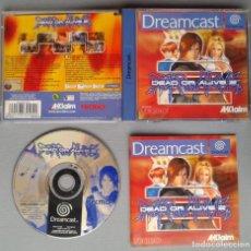 Videojuegos y Consolas: SEGA DREAMCAST DEAD OR ALIVE 2 COMPLETO CAJA Y MANUAL BOXED CIB PAL LEER R10928. Lote 206876948