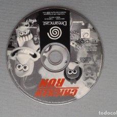 Videojuegos y Consolas: SEGA DREAMCAST CHICKEN RUN SOLO DISCO CD PAL R10909. Lote 206877078