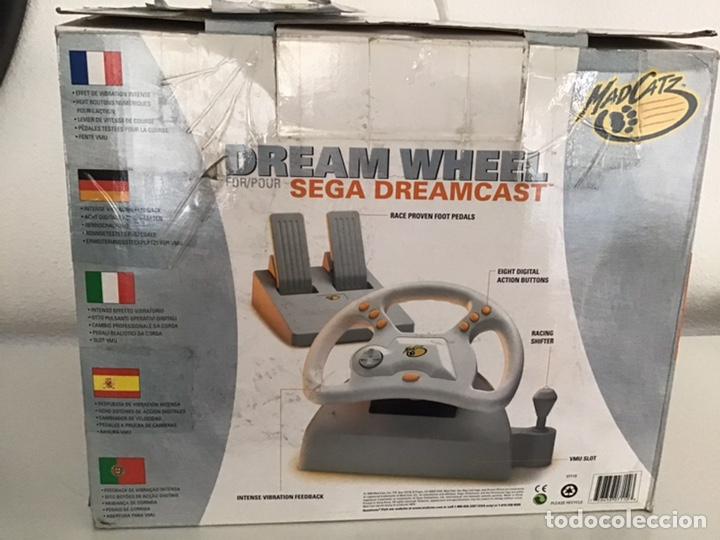 Videojuegos y Consolas: Volante Dream wheel para Sega Dreamcast - Foto 2 - 208081580