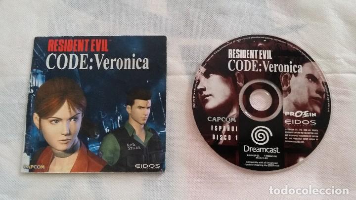 RESIDENT EVIL CODE VERONICA (Juguetes - Videojuegos y Consolas - Sega - DreamCast)