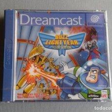 Videojuegos y Consolas: SEGA DREAMCAST BUZZ LIGHTYEAR STAR COMMAND PRECINTADO NUEVO NEW SEALED PAL ESP R11297. Lote 290037623