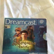 Videojuegos y Consolas: SEGA DREAMCAST SHEMMNE. Lote 215784120