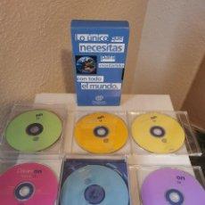 Videojuegos y Consolas: DISCOS DREAMCAST DEMOS JUGABLES Y DREAMKEY. Lote 216702562