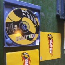 Videojuegos y Consolas: ANTIGUO JUEGO DREAMCAST CRAZY TAXI. Lote 218872916