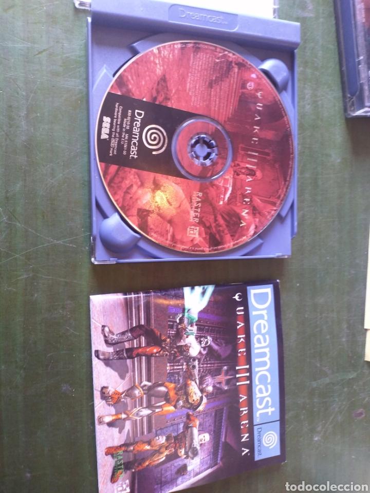 ANTIGUO JUEGO DREAMCAST QUAKE 3 ARENA (Juguetes - Videojuegos y Consolas - Sega - DreamCast)