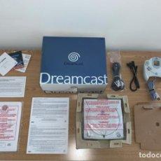Videojuegos y Consolas: SEGA DREAMCAST COMPLETA CAJA MANUALES - ESPECTACULAR ESTADO BOXED PAL RARE. Lote 218965553