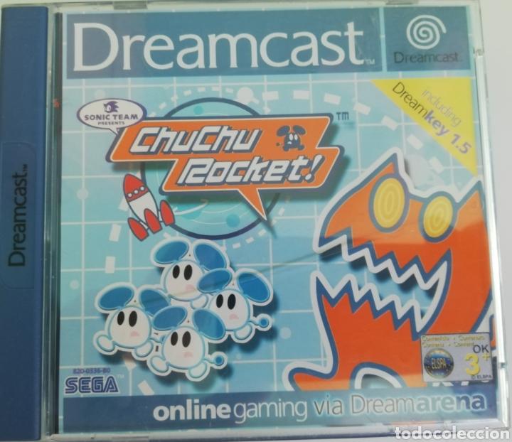 CHUCHU ROCKET PAL ESPAÑA (Juguetes - Videojuegos y Consolas - Sega - DreamCast)