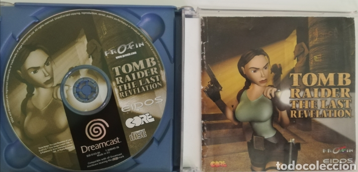 Videojuegos y Consolas: Tomb Raider The Last Revelation pal españa - Foto 3 - 219165442