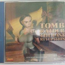Videojuegos y Consolas: TOMB RAIDER THE LAST REVELATION PAL ESPAÑA. Lote 219165442