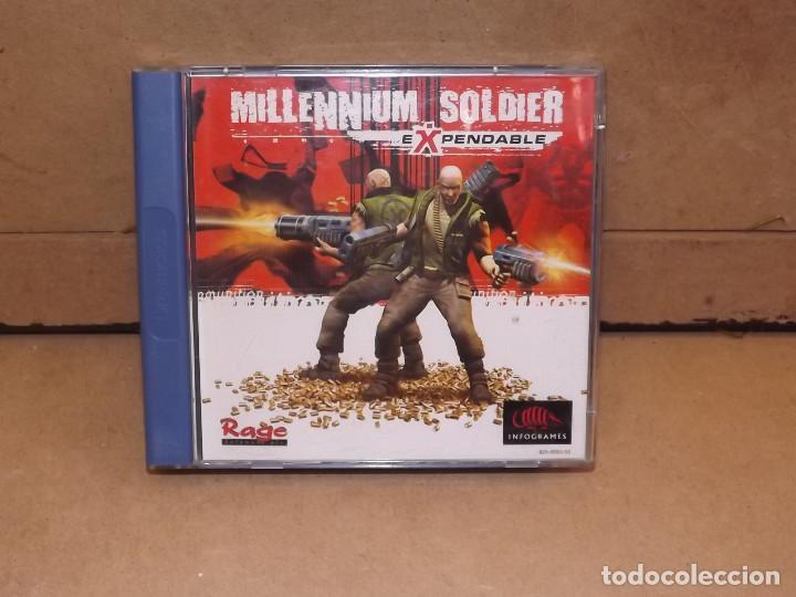 DREAMCAST MILLENNIUM SOLDIER EXPENDABLE - SEGA (Juguetes - Videojuegos y Consolas - Sega - DreamCast)